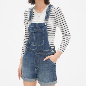 Gap shortalls overall shorts medium
